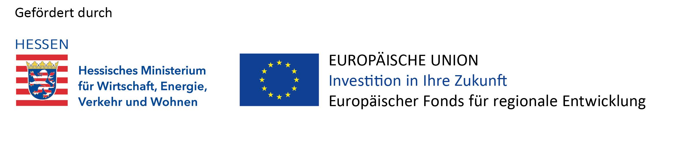 gefördert durch Europäischer Fonds für regionale Entwicklung EFRE